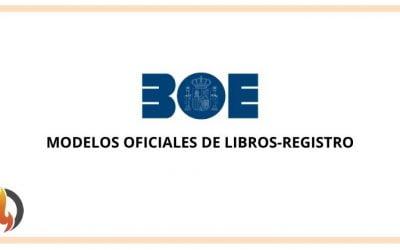 Modelos oficiales de libros-registro
